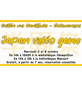 Mercredi 2 octobre – Japan Vidéo Game