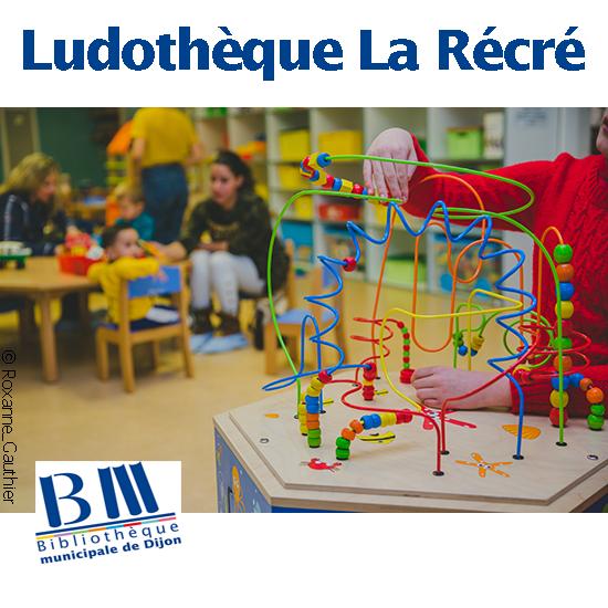 La Ludothèque municipale La Récré