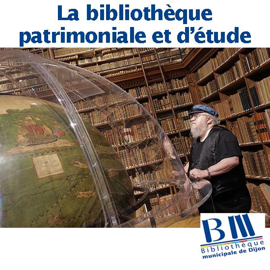 La bibliothèque patrimoniale et d'étude